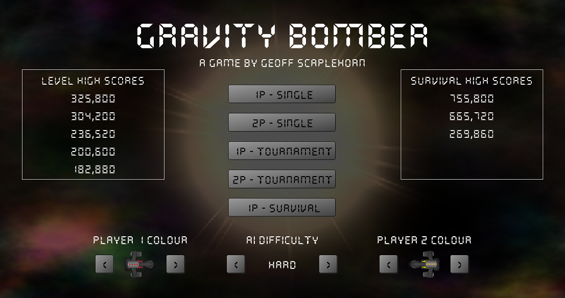 Gravity Bomber – finished!